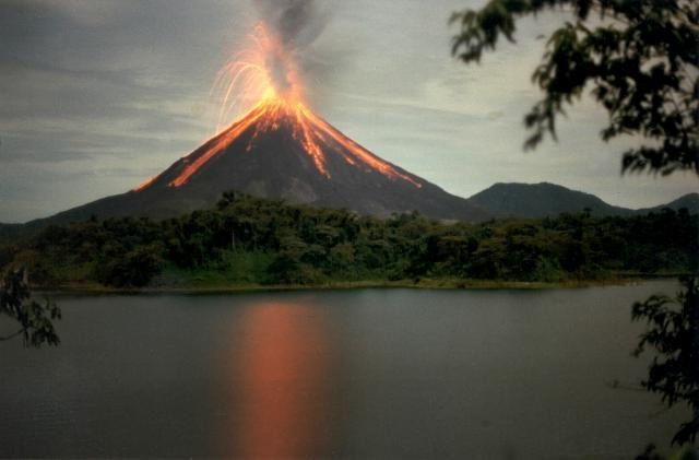 Arenal Volcano is one of the main touristic attraction in Costa Rica.