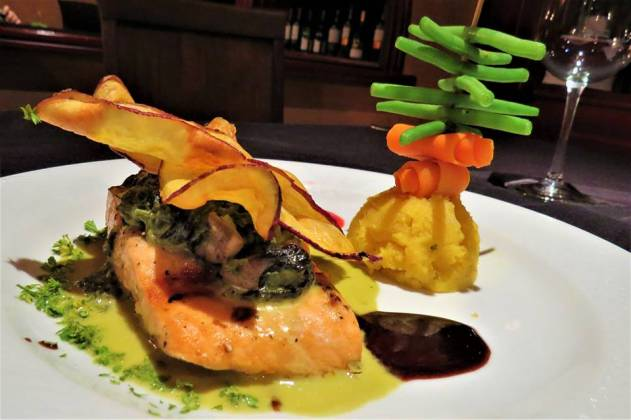 A special dish of Le Monastere restaurant