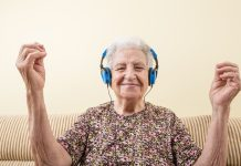 Music therapy is a great choice for the medical treatment of elder people.
