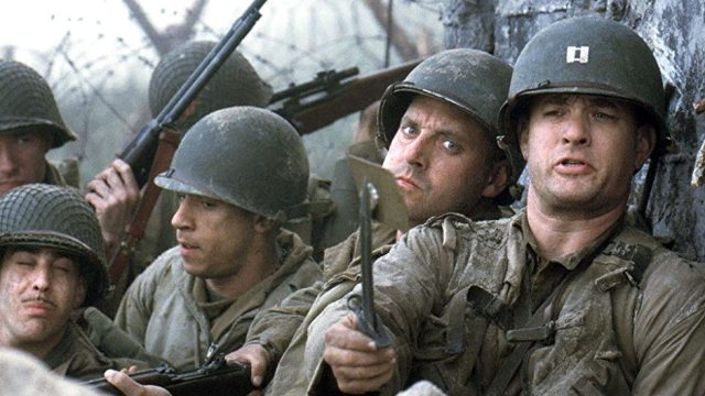 """""""Saving Private Ryan was one of the best movies starred by Tom Hanks."""