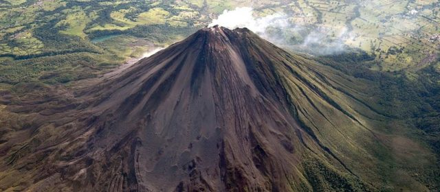 Arenal is probably the most famous volcano in Costa Rica.