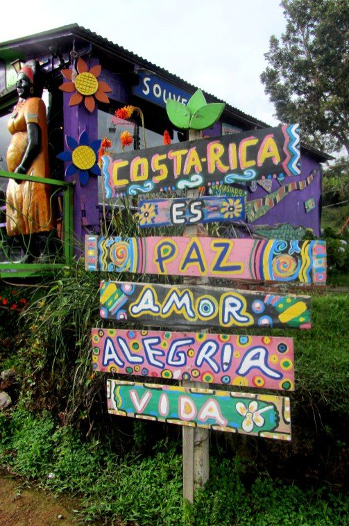 Costa Rica is... Peace, Love, Joy, and Life