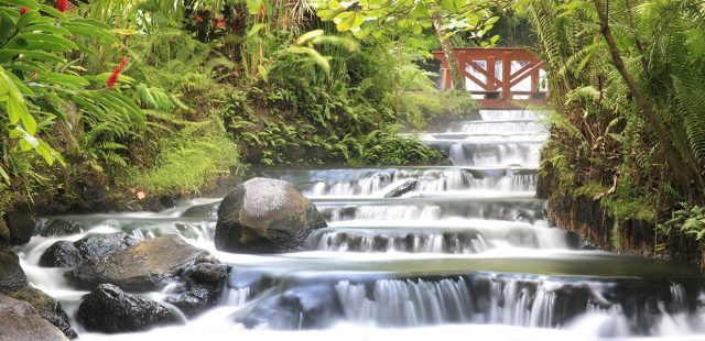 There are many water sources in Costa Rica.