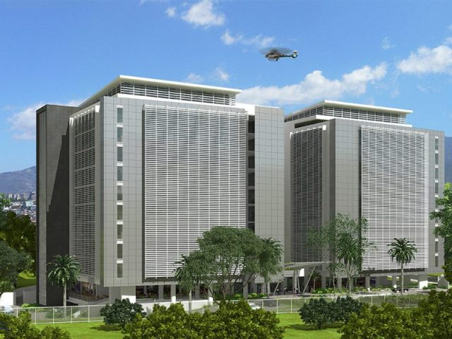 El Tobogán Corporate Center is located in the central area of San José.