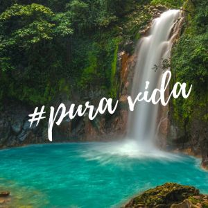 "The expression ""Pura Vida"" reflects the relaxed Costa Rican style.eflects"