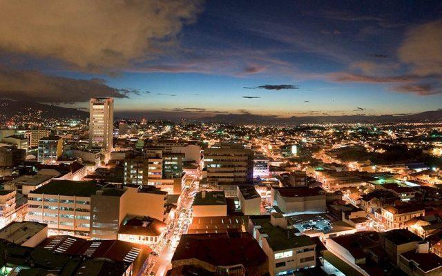 San José is a beautifully green city.