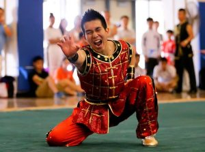 Wushu, aka Kung Fu, is a traditional Chinese martial art that strenghthens mind and body balance.
