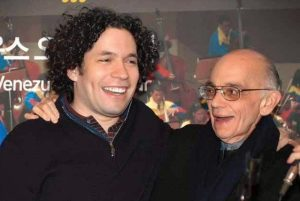 """Young director Gustavo Dudamel is one of the most famous and outstanding graduates of """"El Sistema""""."""