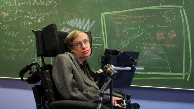 Stephen Hawking was a remarkable professor at Cambridge University.
