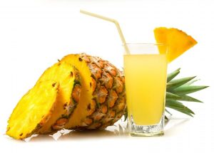 Pineapple are both delicious and effective as natural diuretics.