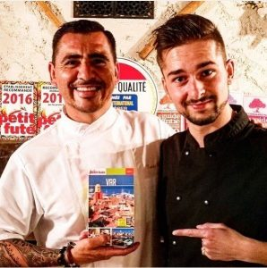 This chef has taken the best Costa Rican gastronomy to prestigious restaurants in France.