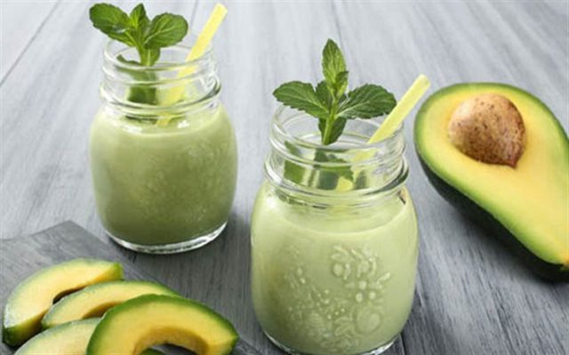 Many drinks and desserts are made with avocados.