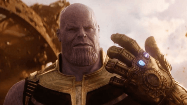 Thanos is the film's arch-villain.