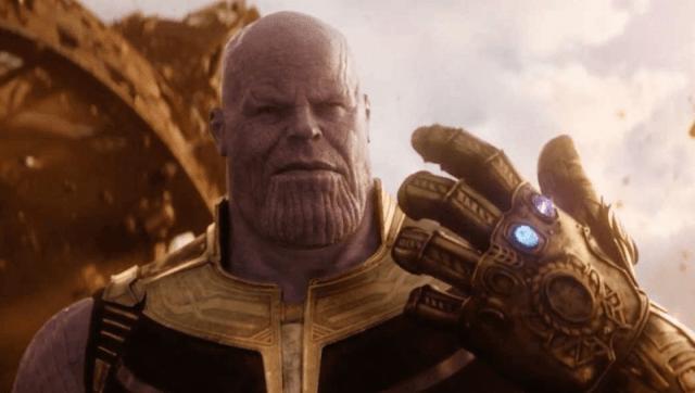 Thanos is the film's arch-villain.