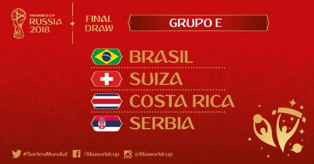 Group E Russia 2018