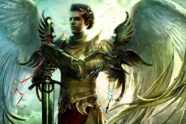 Masculine-like angel
