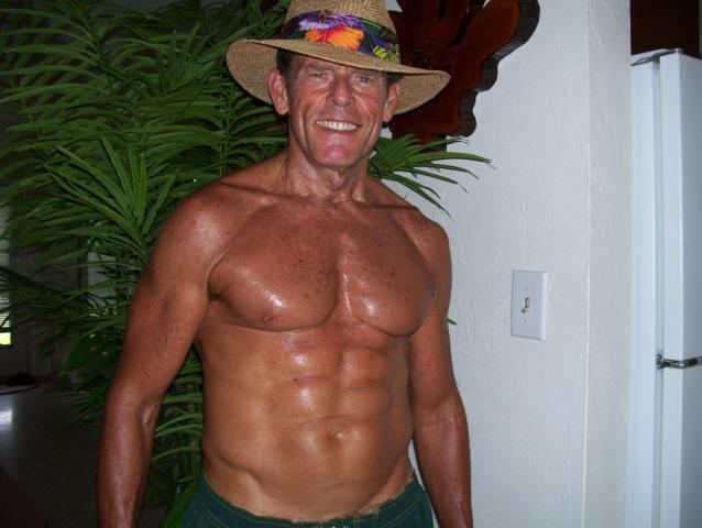 Mature man in good shape