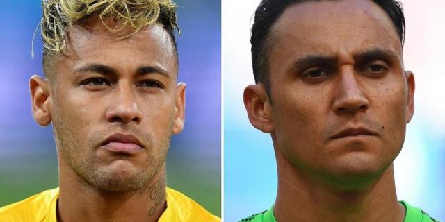 Neymar vs. Keylor Navas