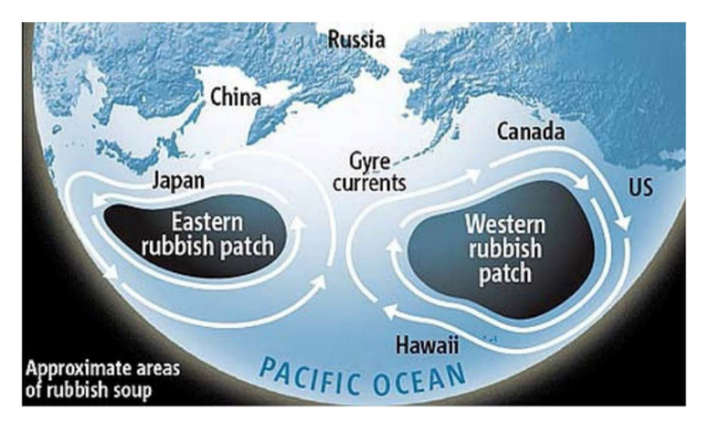 Pacific Ocean's garbage patches