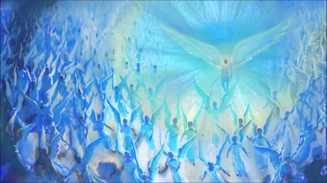 St. Michael Archangel's powerful light