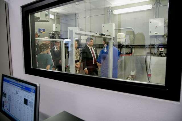 Visit of President Carlos Alvarado to ICE Lab