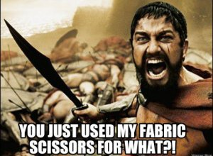 We Asked You For Your Worst Uses of Sewing Scissors…