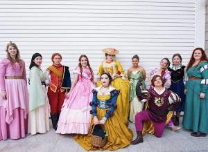 Costume Students Make Awesome Historically-Accurate Disney Characters