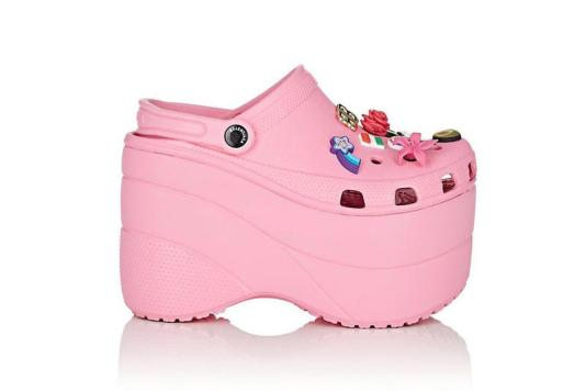 would you dare to wear balenciaga s luxury crocs the costume rag