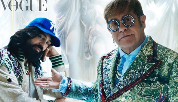 "Elton John's New Designer ""Doesn't Give a F**k What People Think"""
