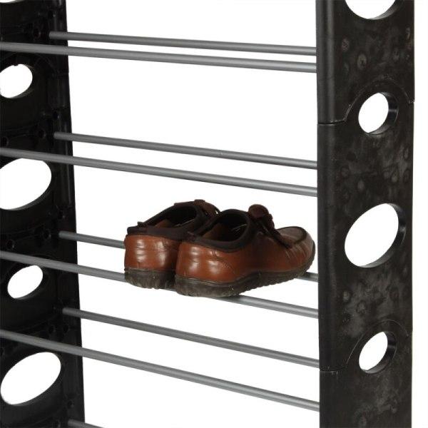 30-Pair Stackable Shoerack