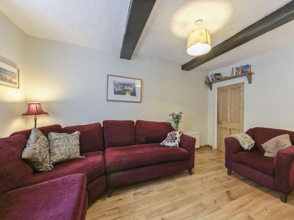 Crescent Cottage Living Room
