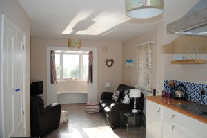 Holiday Cottages in Tewkesbury: Wharf House Living Area