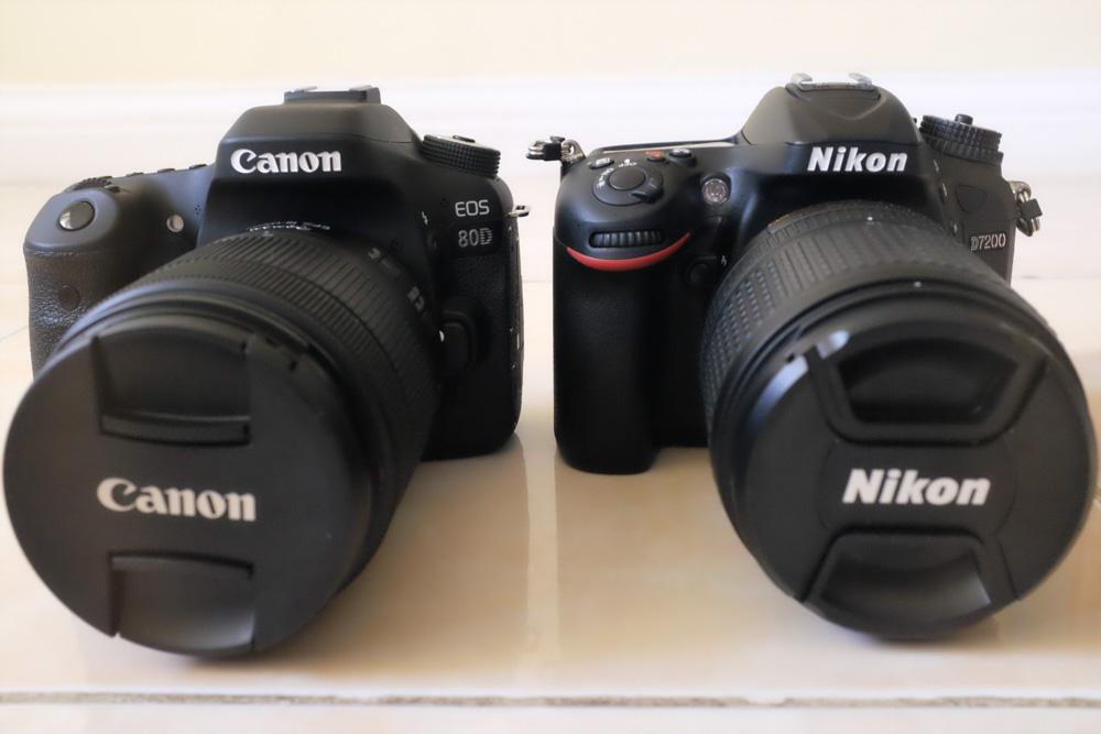 canon 80d vs nikon d7200