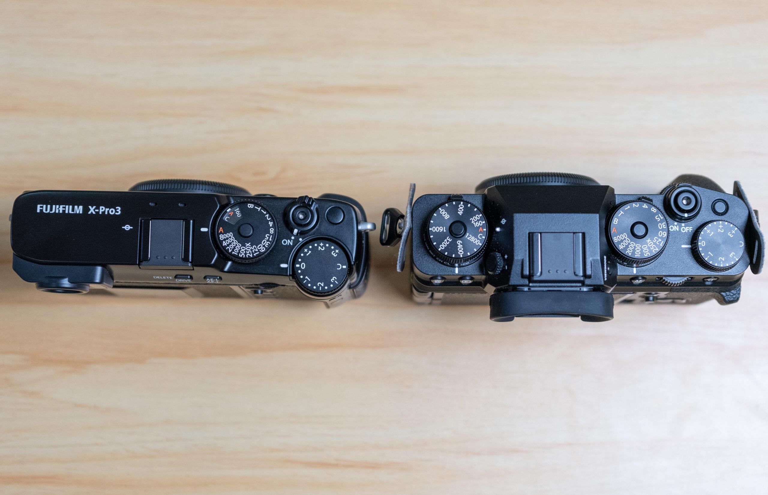 fuji xt4 vs x pro 3 image