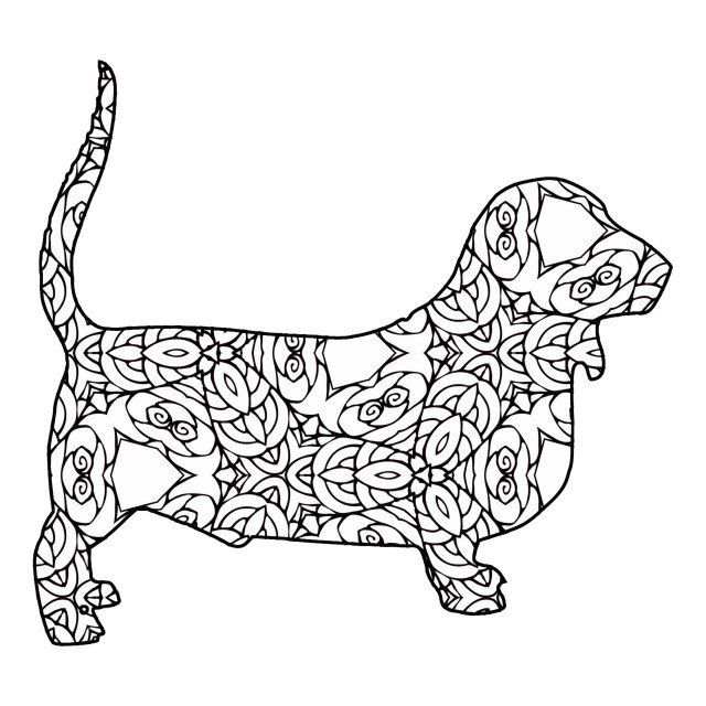 28 Free Printable Geometric Animal Coloring Pages  The Cottage Market