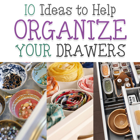 10 Ideas to Help Organize Your Drawers