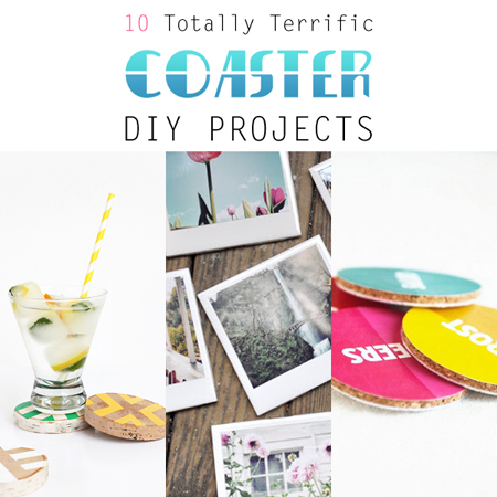 10 Totally Terrific Coaster DIY Projects