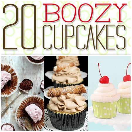 20 Boozy Cupcakes