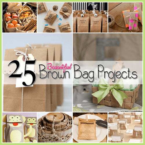 25 Beautiful Brown Bag Projects
