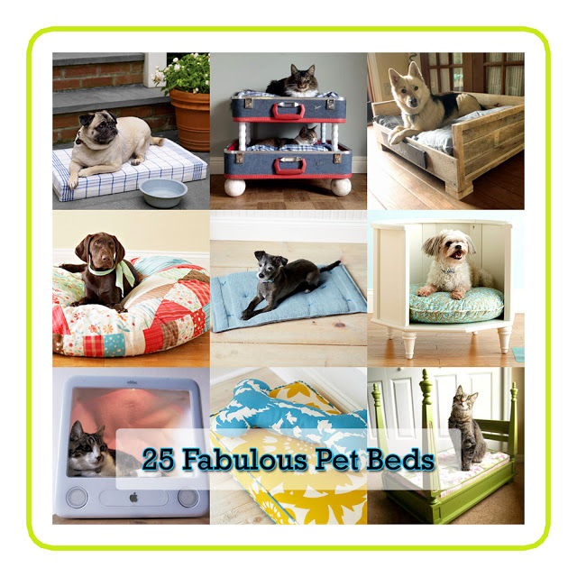 25 Fabulous Pet Beds