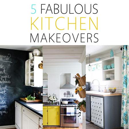 5 Fabulous Kitchen Makeovers