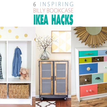 6 Inspiring Billy Bookcase Ikea Hacks