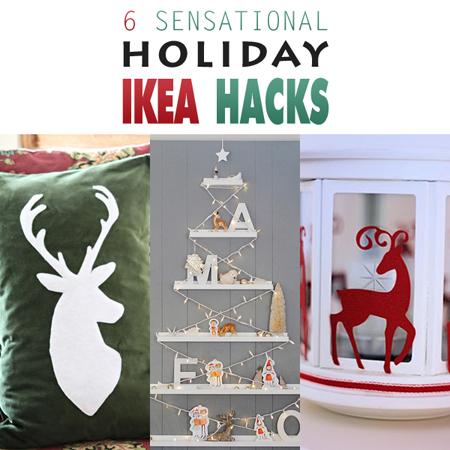 6 Sensational Holiday Ikea Hacks