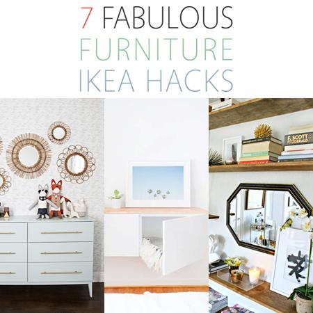 7 Fabulous Furniture Ikea Hacks