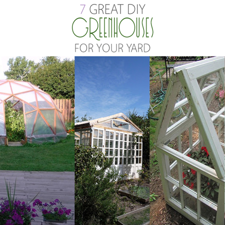 7 Great Greenhouses For Your Yard