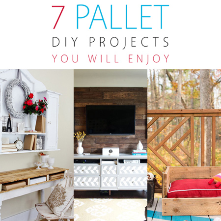 7 Pallet DIY Projects You Will Enjoy