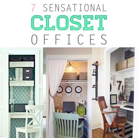 7 Sensational Closet Offices