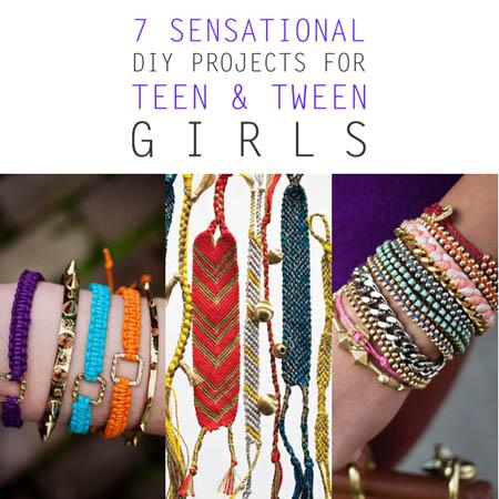 7 Sensational DIY Projects for Teen and Tween Girls