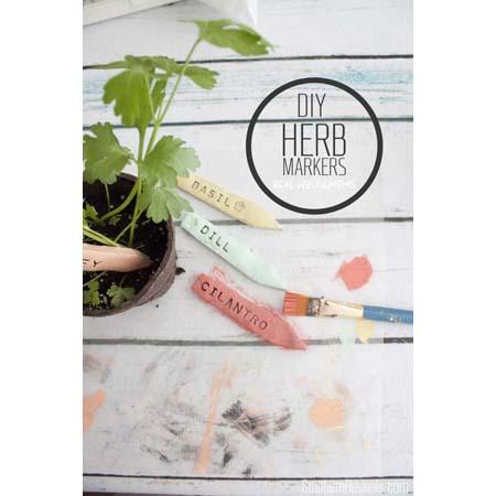 7 Sensational Garden Marker DIY Projects