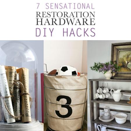 7 Sensational Restoration Hardware DIY Hacks